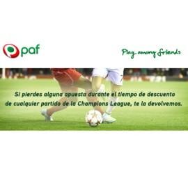 promocion paf apuestas futbol online Champions League